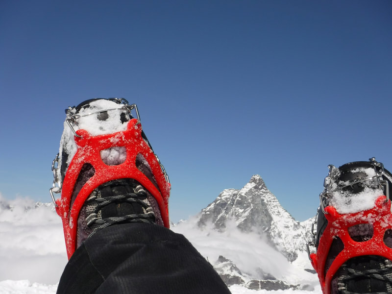 Easy to use little crampons