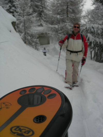A perfect time to learn to use avalanche safety gear